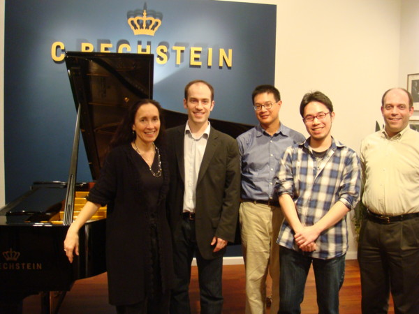 Bechstein Master Class: Juilliard Evening Division students perform and critique.